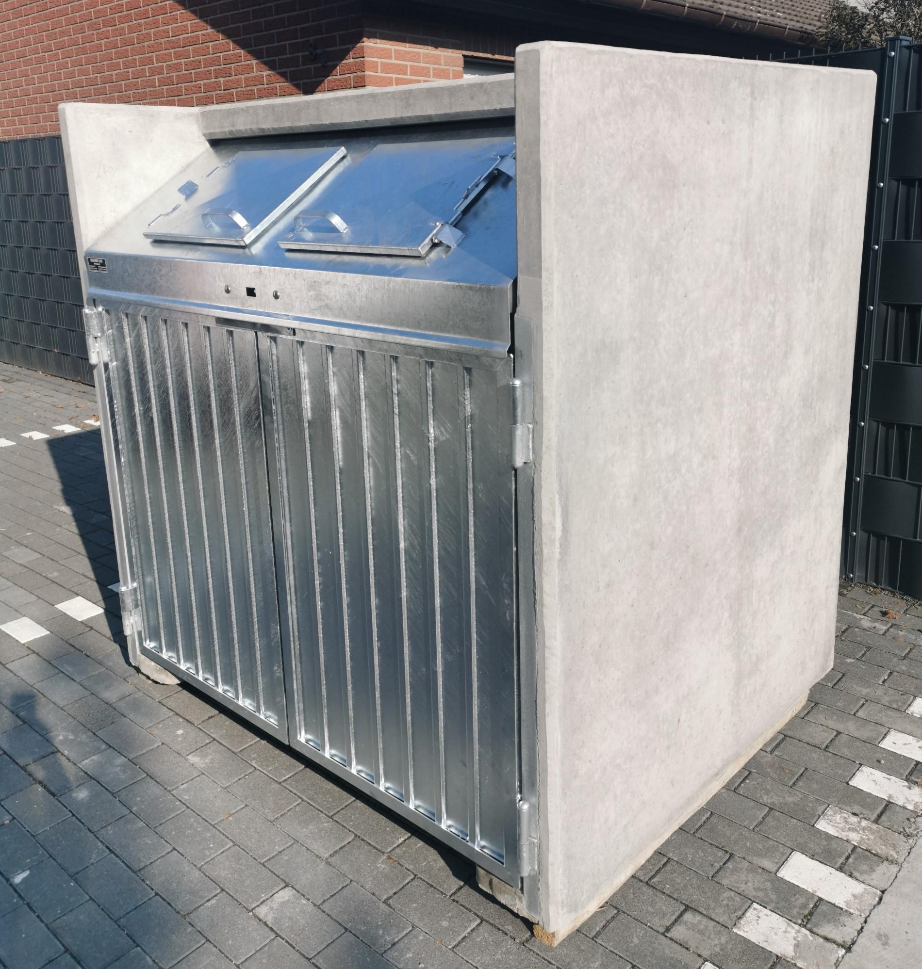 Containerbox, Sichtbeton, Standard